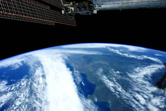 NASA ship - stock footage