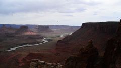 Utah Landscape, Colorado River Castle Valley Stock Footage