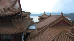 Wen Wu (Wenwu) Temple Stock Footage