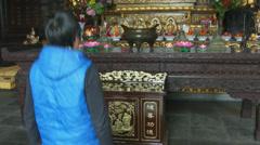 Xi'an Bhudda 2 Stock Footage
