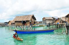 Sea Life at Semporna's Island - stock photo