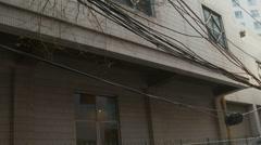 Xian backstreets, China Stock Footage