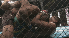 A great fight made in the state of sao paulo, with athletes from various regions - stock footage