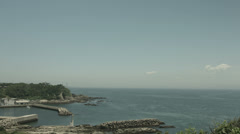 Kenzaki light house view, non color graded Full HD (1920x1080) Stock Footage