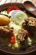 Sindhi biryani – a non-veg dish sindhi cuisine Stock Photos