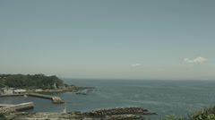 Kenzaki light house view, non color graded 4K (3840x2160) Stock Footage