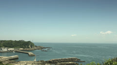Kenzaki light house view, color graded 4K (3840x2160) Stock Footage