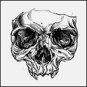 Stock Illustration of Skull Mask