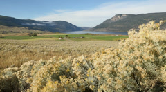 Nicola Valley and Lake, British Columbia Stock Footage
