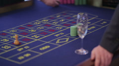 Casino Roulette - stock footage