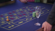 Stock Video Footage of Casino Roulette