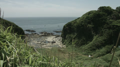 kenzaki light house hill, non color graded Full HD (1920x1080) - stock footage