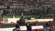 Stock Video Footage of Camaro at Drag Racing motor sports at Hockenheimring
