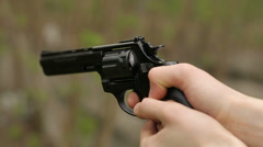 Handgun Shoots 2 - stock footage