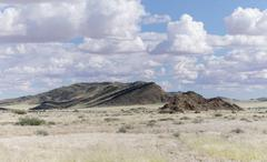 Africa, Namibia, Naukluft Mountians, Veld Stock Photos