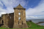 Stock Photo of United Kingdom, Scotland, Highlands, Castle Ruin