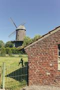 Germany, North Rhine-Westphalia, Werth, Tower mill - stock photo