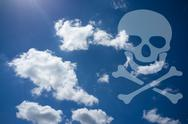 Stock Illustration of skull and crossbones