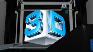 Stock After Effects of 3D PRINTER Logo Reveal