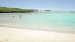 Paradisiac Beach Stock Footage