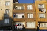 Stock Photo of Turkey, Diyarbakir, facades of multi-family houses