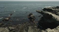 Jogashima sea, non color graded 4K (3840x2160) Stock Footage