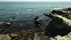 Jogashima sea, color graded 4K (3840x2160) Stock Footage