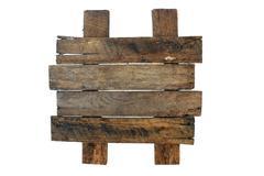 Weathered wood sign Stock Photos
