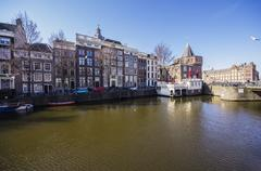 Netherlands, Holland, Amsterdam, Schreierstoren, Weeper's Tower Stock Photos