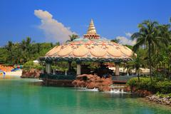 Atlantis hotel in bahamas Stock Photos