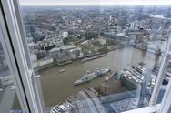 Stock Photo of Great Britain, Endland, London, Southwark, View from The Shard to Tower Bridge