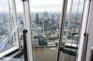 Stock Photo of Great Britain, Endland, London, Southwark, City of London, View from The Shard