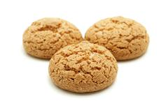 amaretti di saronno - stock photo
