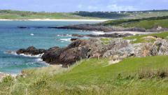 Ireland Beach Time Lapse Stock Footage