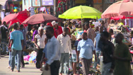 Stock Video Footage of busy street in dar es salaam