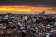 Stock Photo of lisbon at sunset