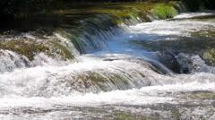 MREZ 30 Wonderful fresh water rapids waterfalls river flowing 5 Stock Footage