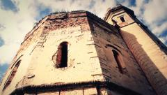 Old Castle Tower in Ecka village in Serbia 3 of 6 (4 sequences)  multiple shots Stock Footage