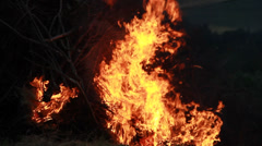 Big Fire Elements - Rising Flames Inferno 7 - stock footage