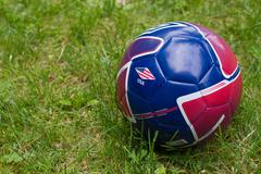 Official Youth World Cup Soccer Ball Stock Photos
