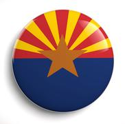 Stock Illustration of arizona flag