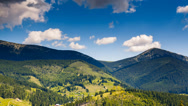 Stock Video Footage of Carpathian Mountains , Ukraine, Europe.