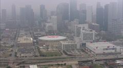 Houston Skyline Midday Stock Footage