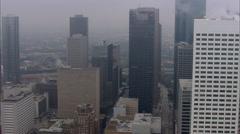Houston Downtown Skyline Stock Footage