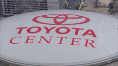 Toyota Center Houston Stock Footage