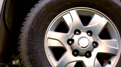 Close up of casting wheel. Macro video shift motion Stock Footage