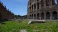 Italy, Rome, Colosseum on sunny day. Footage