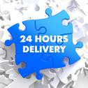 Stock Illustration of Blue Puzzle - 24 hours Delivery.