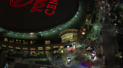 Toyota Center Front Entrance Stock Footage