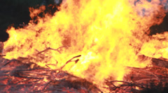 Big Fire Elements - HellFire 0012 - stock footage